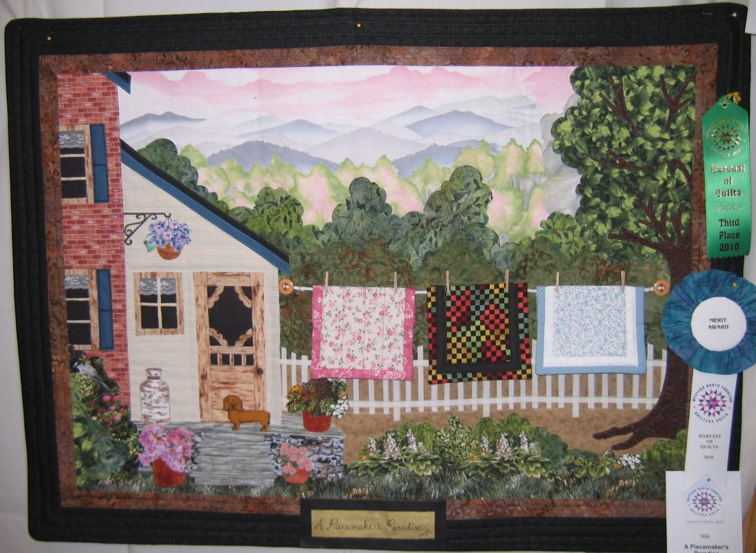 Western NC Quilters Guild 2010 Harvest of Quilts Show Special Awards : pictorial quilt artists - Adamdwight.com